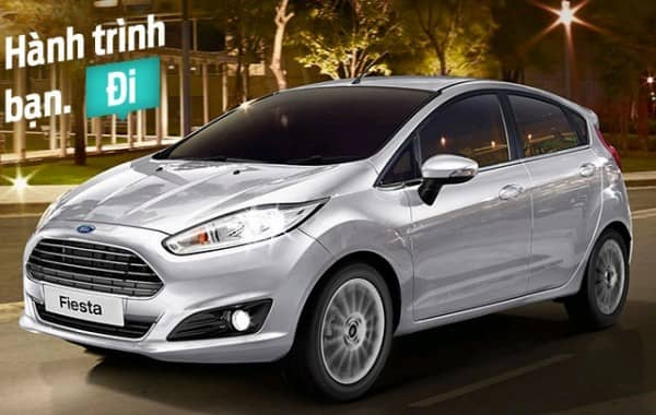 Ford Fiesta 1.5L Titanium Sedan